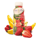 Ready-to-Serve Strawberry-Banana Drink
